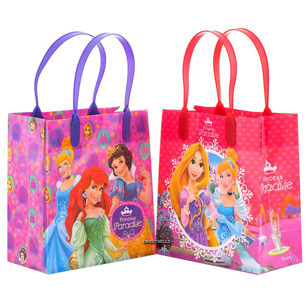Disney Princess Paradise Reusable Party Favor Goodie Small Gift Bags