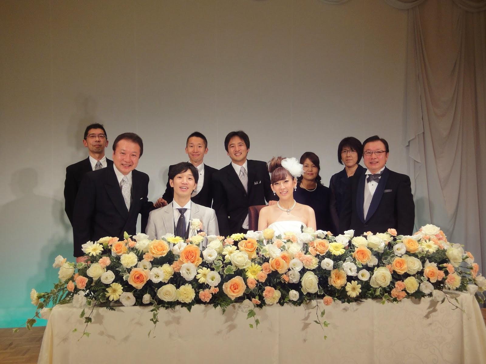 巽堂新井はり灸院: 2013年11月4日 二宮健悟先生の結婚式