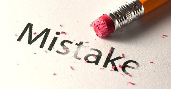 Tiga Kesalahan yang Diampuni