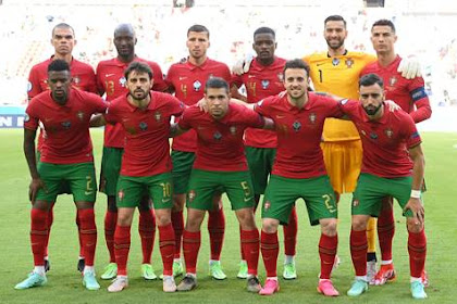 Daftar Skuad Pemain Timnas Portugal Terbaru [EURO 2021]