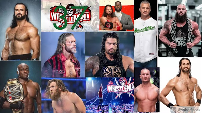 WWE Wrestlemania 37 matches 2021 List In Hindi 10 & 11 April