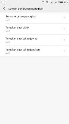 Cara Mematikan Penerusan Panggilan HP Xiaomi