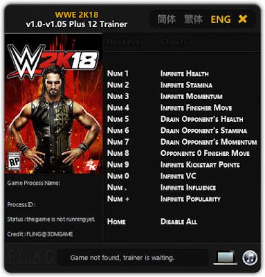 WWE 2K19 Trainer
