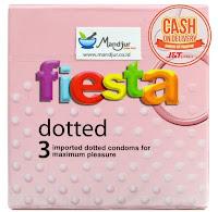 Kondom Fiesta Dotted