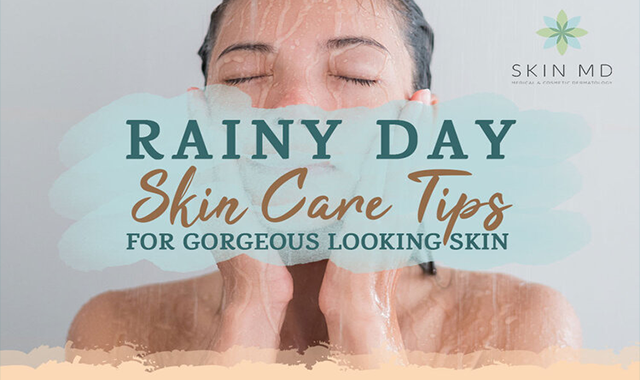 Essential Rainy Season Skin Care Tips To Beat The Harsh Weather #infographic