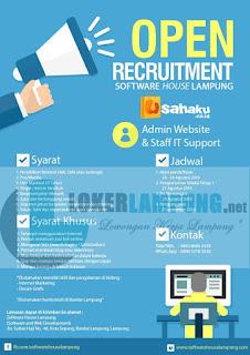 Open Recruitment Software House Lampung Terbaru Agustus 2016