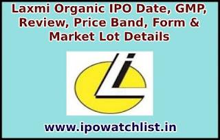 Laxmi Organic IPO Subscription status
