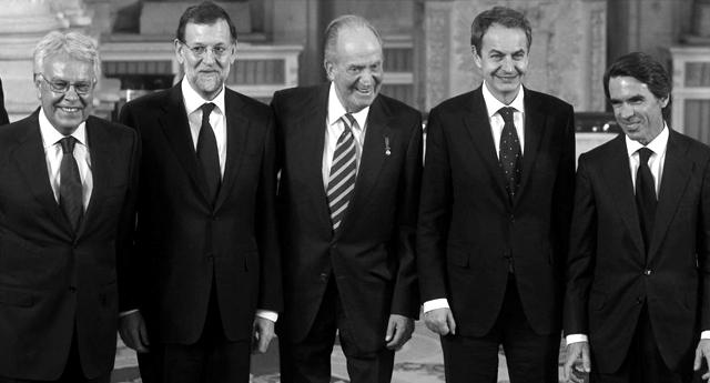La democracia en España, inventada por los dos últimos Borbones. Así de fuerte