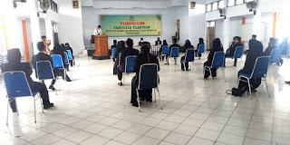Yudisium Fakultas Tarbiyah Tetap Terapkan Protokol Kesehatan