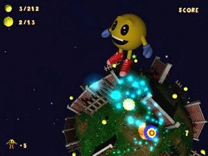 Ballman Planets free PC Pac-Man action game