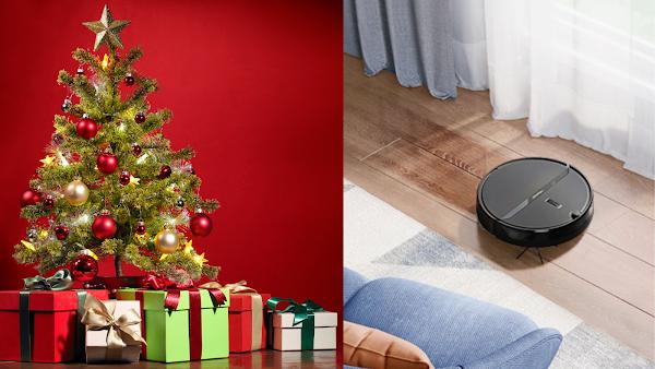 E que tal um Robot aspirador de prenda de Natal?
