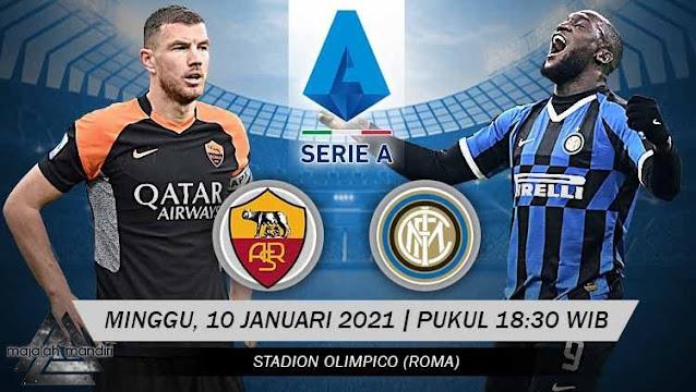 Prediksi AS Roma Vs Inter Milan