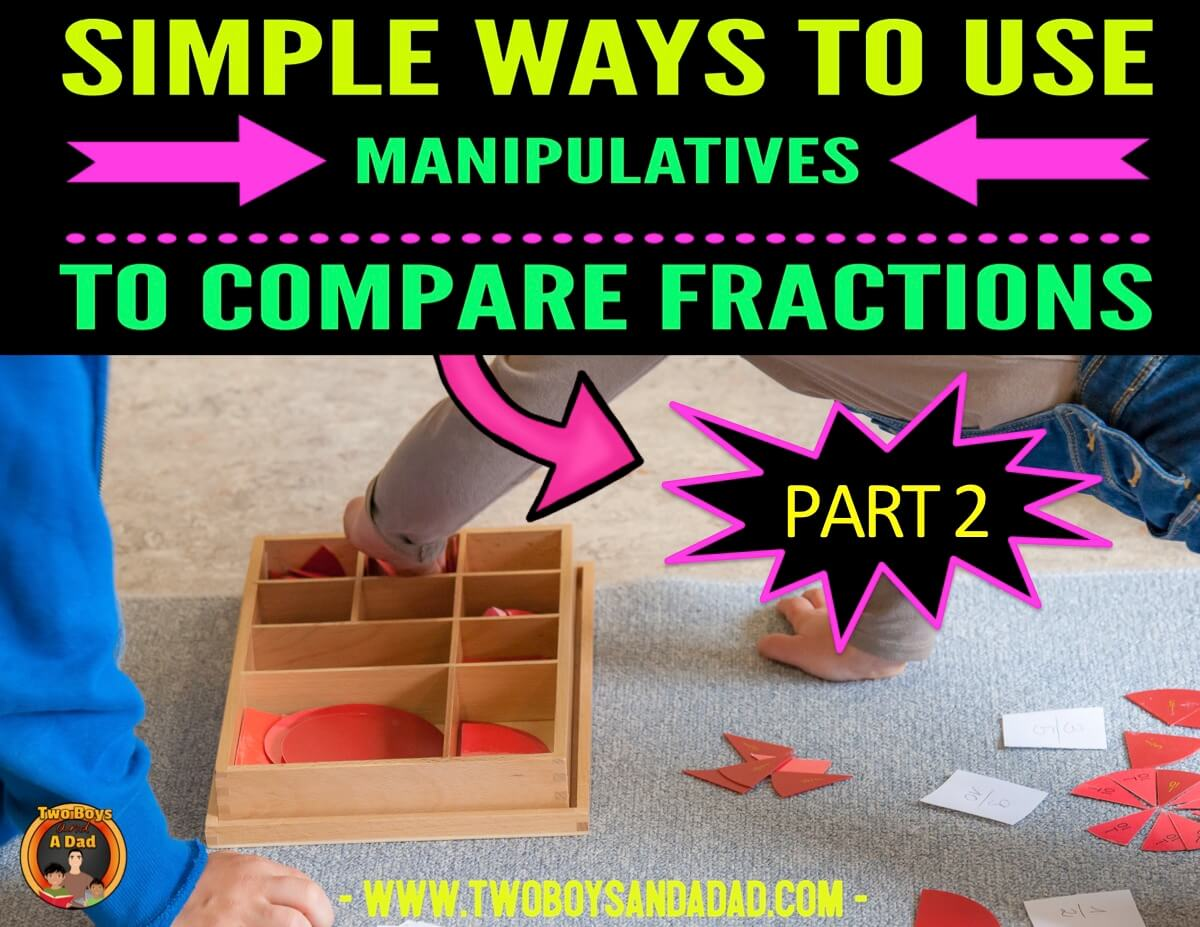 comparing fractions and math talk