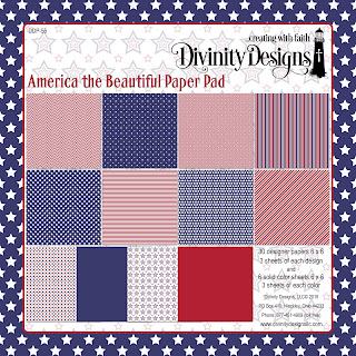 America the Beautiful Paper Pad
