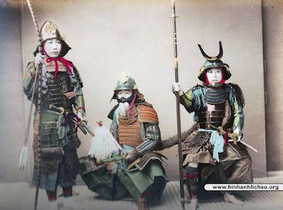 Chiến binh Samurai Nhật Bản
