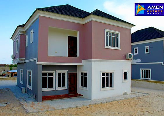 Amen Estate: Luxury 3 Bedroom Duplex with maid Room