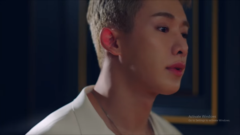 Wonho Duet With Kiiara in The MV 'Ain't About You'