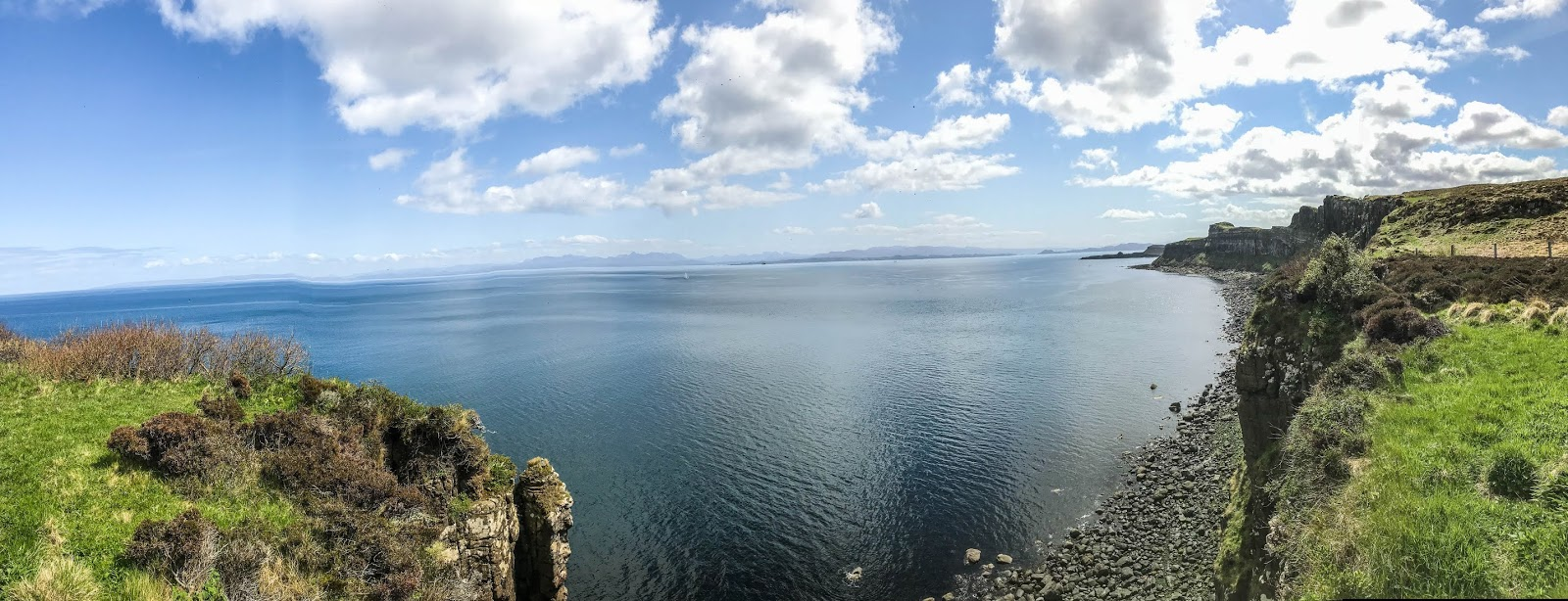 Isle of skye, scotland, summer in scotland, atlantic ocean