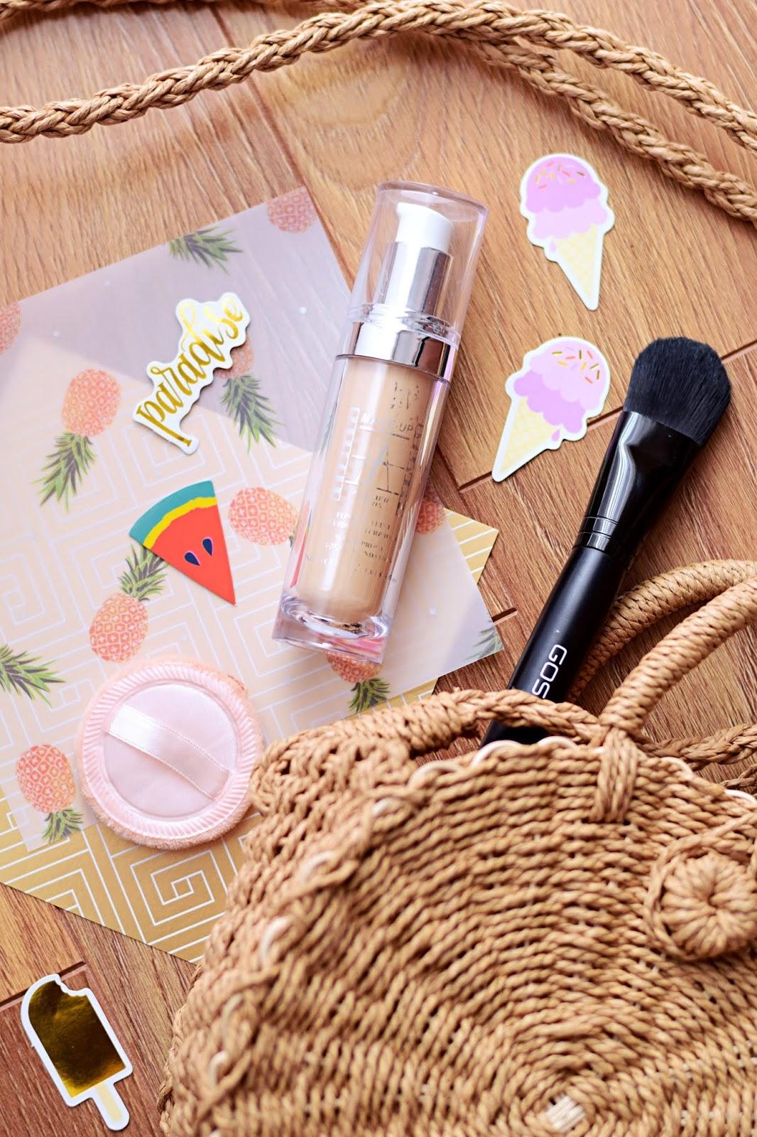 Ulubieńcy blogerek: Make-Up Atelier Paris, Waterproof Liquid Foundation | Czy pokład przetrwał 10-godzinny test?