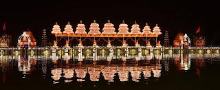 Spectacular display of fireworks to mark the opening of Krishna Pushkaralu 2016