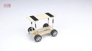 Cara Membuat Mobil dari Stik Es Krim