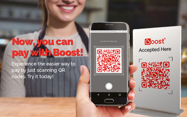 Reload guna BOOST APPS & kelebihan lain yang ada pada Boost Apps