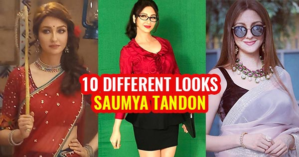 saumya tandon 10 different looks in saree tight top anita bhabhi