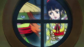 ワンピースアニメ | 菊之丞 お菊 | ONE PIECE  KIKUNOJO OKIKU | Hello Anime !