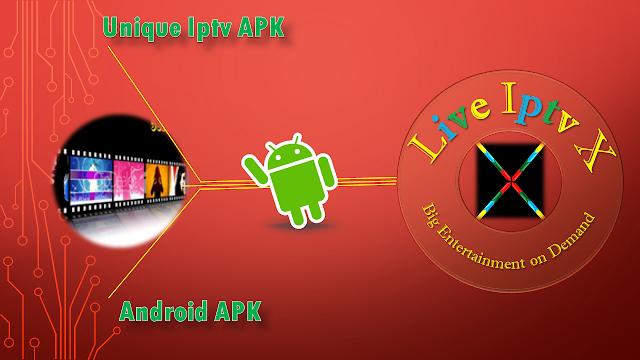 Unique iptv APK