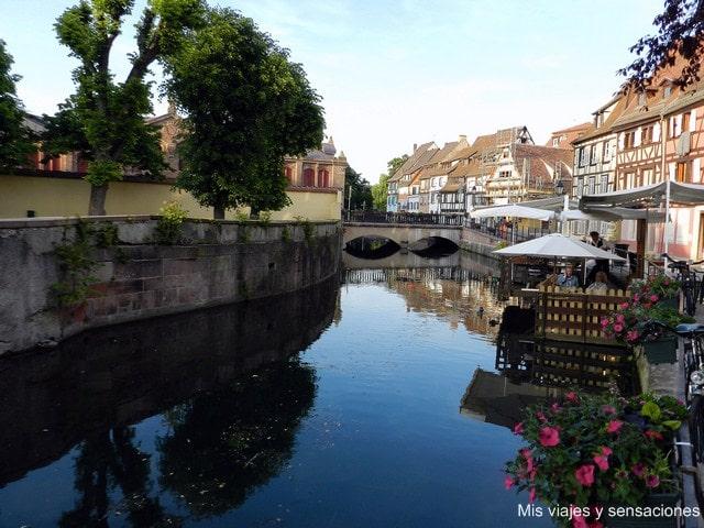 Petit Venise, Colmar, Alsacia