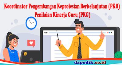 Catat, Tugas Pokok/ Beban Kerja Koordinator Pengembangan Keprofesian Berkelanjutan (PKB)/ Penilaian Kinerja Guru (PKG) Berdasarkan Permendikbud Nomor 15 Tahun 2018