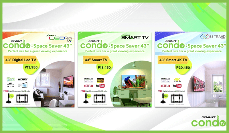 Price of Smart TVs in PH