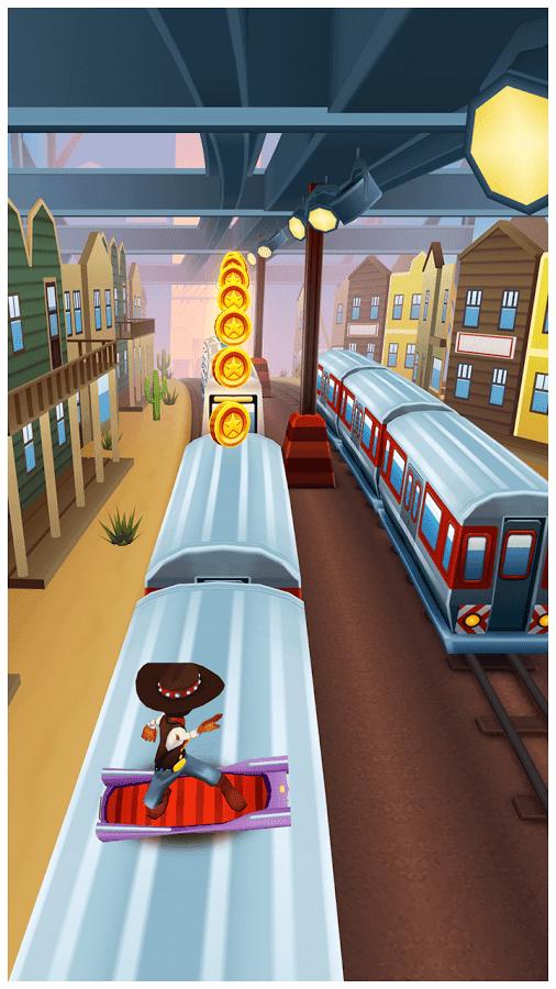 تحميل لعبة القطار subway surfers
