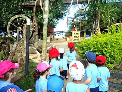 Visitações Escolares à Fazenda Rico Caipira