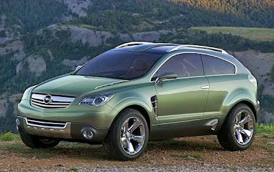 2015 Opel Antara Front View Model