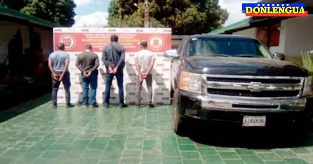 COMPETENCIA   Cuatro miembros del Cartel de Sinaloa fueron detenidos en Apure