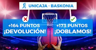 Paston ACB Unicaja vs Baskonia 23 diciembre