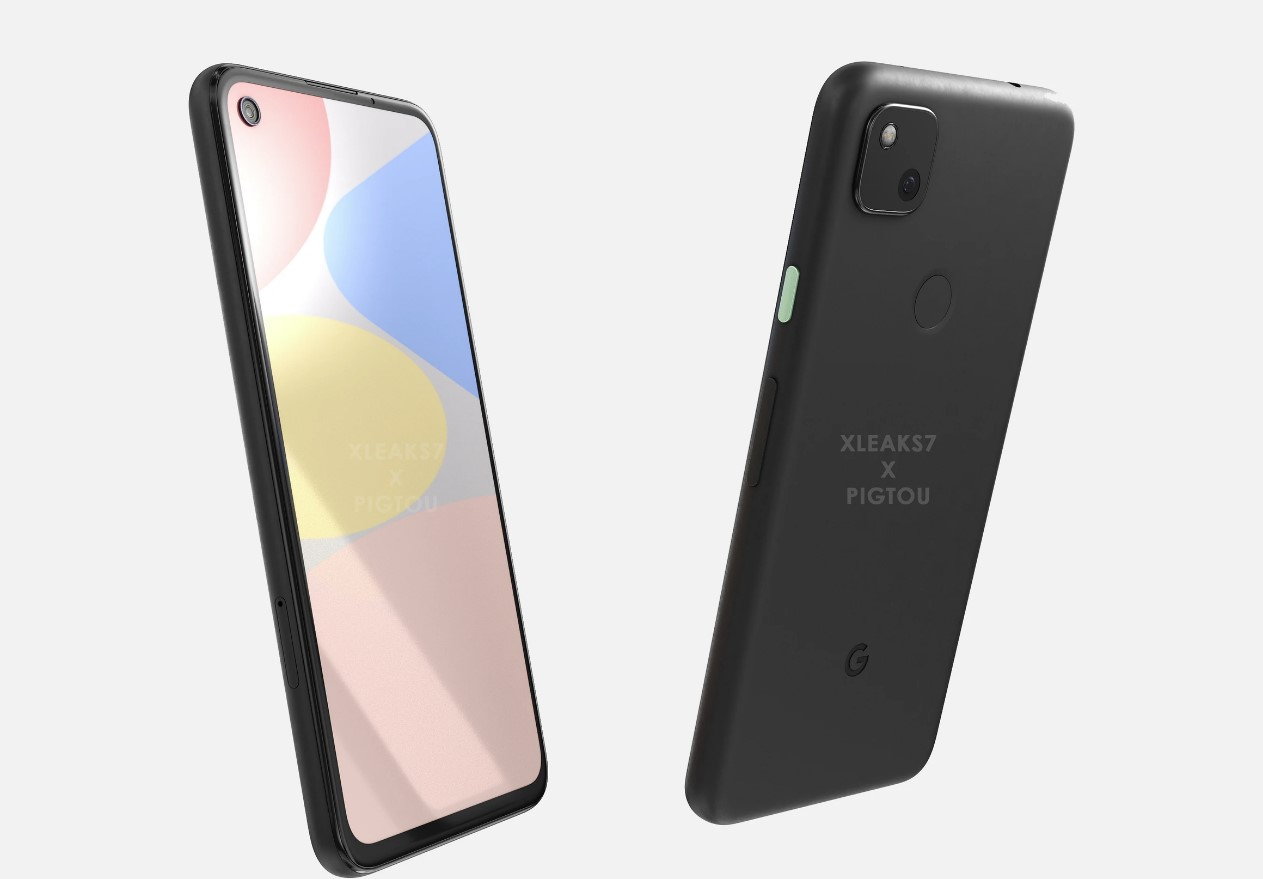 Google Pixel 4a renders of the upcoming smartphone is leaked