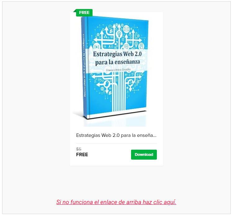 Libro Estrategias Web 2.0 para la enseñanza