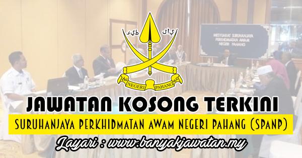 Jawatan Kosong 2018 di Suruhanjaya Perkhidmatan Awam Negeri Pahang (SPANP)