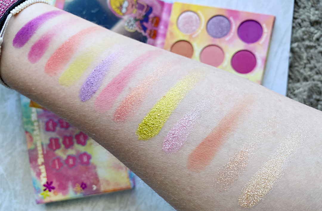 what dreams are made of palette colourpop lizzie mcguire