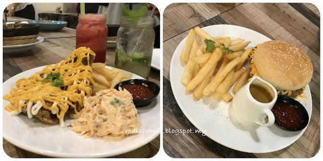 Searai kedai makan di Melawati Mall