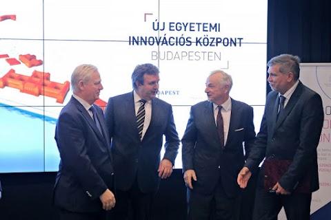 Palkovics: új egyetemi innovációs központ jön létre Budapesten