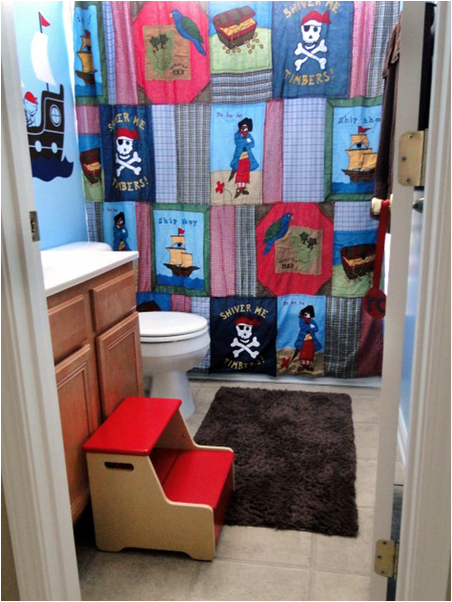 Key Interiors by Shinay: Bathroom Ideas for Young Boys