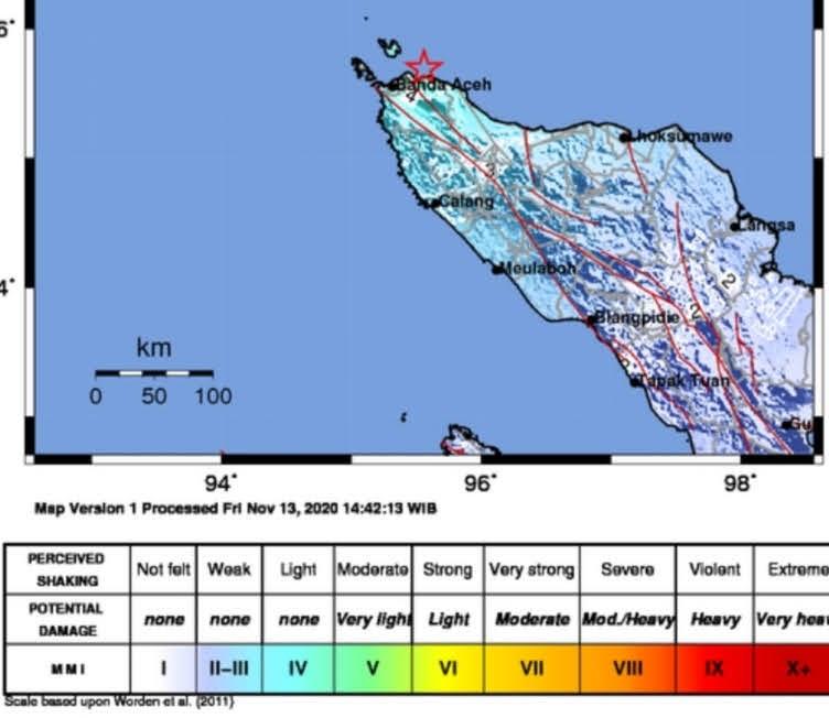 Gempa Bumi M 5 3 Kejutkan Warga Banda Aceh Metro Online