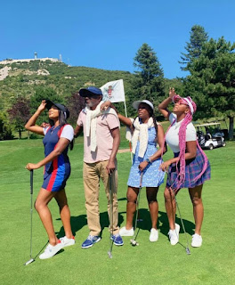 Billionaire Femi Otedola And Daughters Vacation In Monaco [Photos]