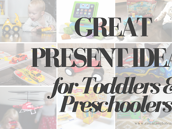 Great Presents for 1, 2, 3 and 4 Year Olds