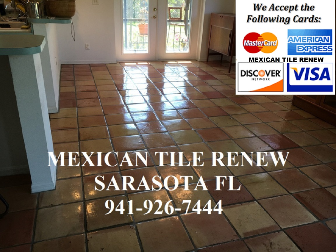 Tile cleaning stripping and sealing mexican tile sarasota mexican tile renew restoring your saltillomexican tile floors in longboat key sarasota bradenton osprey nokomis siesta key fort myers venice and st pete doublecrazyfo Gallery