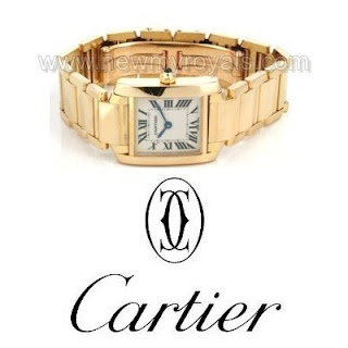 Crown Princess Mary - CARTIER Bracelet Watch