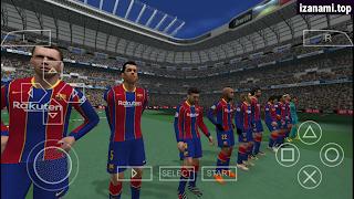 FIFA 2021 PPSSPP Android Offline Meilleurs graphiques et derniers transferts Caméra PS4 [500 Mo]